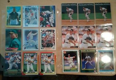 Mark McGwire collection and huge lot of baseball cards with some stars and HOF's