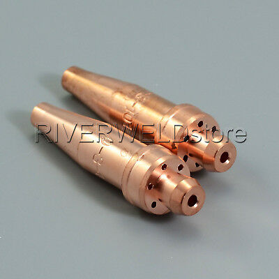 Acetylene Cutting Tips 3-101 Size 0 for Victor Style Torch 2pcs