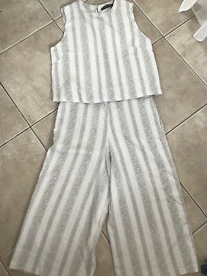Zara Pant And Top Size S/8