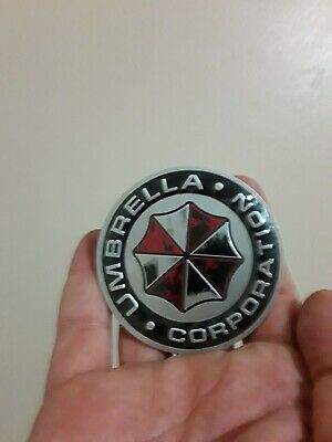 Metal Resident Evil Umbrella Corporation Car Auto Trunk Badge Emblem Car Smoke