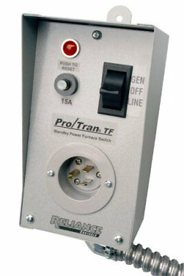 Reliance Controls Corporation TF151W Easy/Tran Transfer Switch for Generators Up