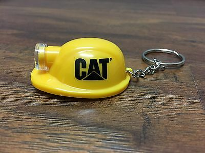 CAT Keychain Hardhat Light - 1 Dozen - Yellow