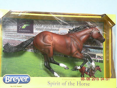 BREYER,SPIRIT OF THE HORSE,#1712,NIB,TRADITIONAL 1:9 SCALE,racehorse