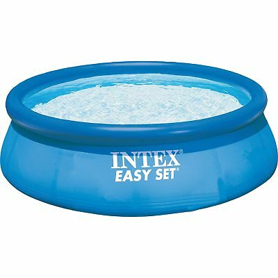 Intex Easy Set Pools 128132GN, Ø 366 x 76 cm, Schwimmbad, hellblau