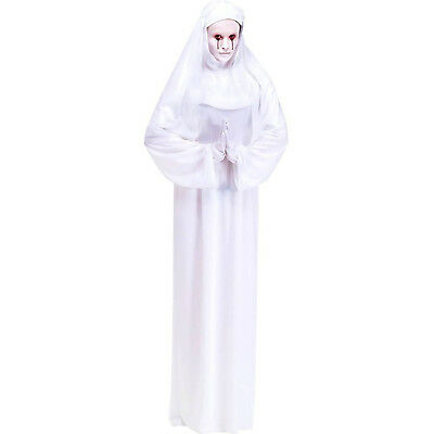 Mother Superior Scary Nun White Adult Costume Standard