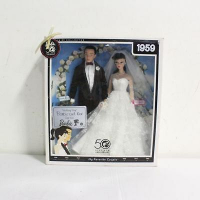 Wedding Day Barbie & Ken Giftset 1959 My Favorite Couple Reproduction #P6750 IOP