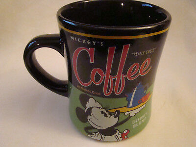 "Walt Disney World ""Mickey's Coffee Disney Blend"" Theme Perks Mug"