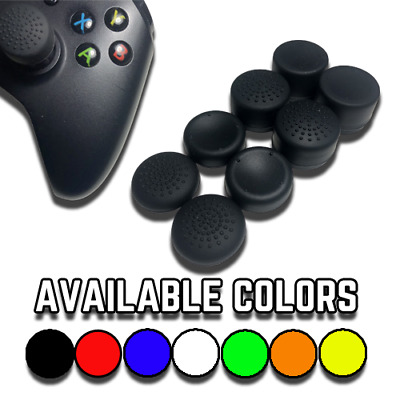 Analog Stick Covers Extenders - PS4, PS3, Xbox One & Xbox 360 8-Pack Thumb Grips