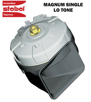 STEBEL MAGNUM HIGH POWER SINGLE ELECTRIC HORN 12V 136dB! LOUD MOTORCYCLE/CAR/4X4