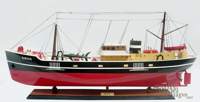 Sirius Fictional Ship Model in The Comic Story