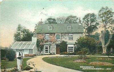 Broadgate, Kingskerswell ~Posted In 1918 #83928