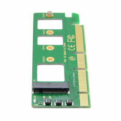 NVME AHCI SSD NGFF M-key to PCI-E 3.0 16x x4 Adapter for XP941 SM951 PM951 SSD