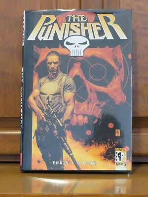 The Punisher Vol. 1: Welcome Back Frank 2003 HC by Garth Ennis and Steve Dillon