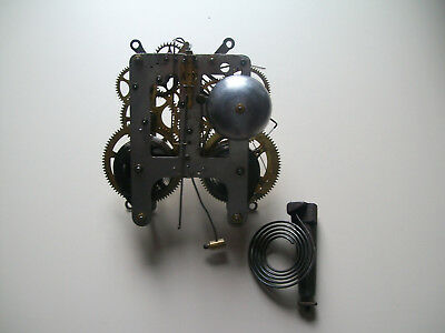 Antique / Vintage William Gilbert American shelf clock movement and parts