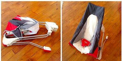 Tinylove Baby Take Along Travel Bouncer / Chair With Travel Bag.  RRP £50