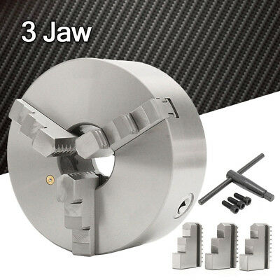 """8"""" 3 Three Jaw Lathe Scroll Chuck Self Centering Hardened For South Bend Tools"""