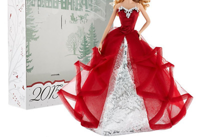 BARBIE DOLL DRESS MODEL MUSE RED METALLIC EVENING GOWN * DRESS ONLY