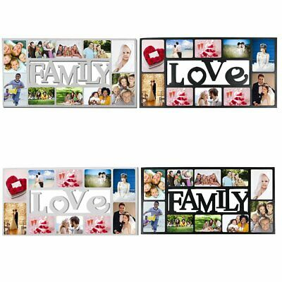 MULTI PHOTOFRAME FAMILY LOVE Picture Frame Collage Aperture Wall Memories