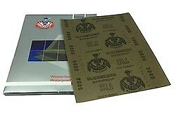 Pack of 50 - 230 x 280 mm x 7000 grit STARCKE Wet and Dry Sheet