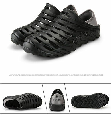 Men's Summer Water Sports Massages Clog Shoes Slip on Beach Boat Rubber Shoe