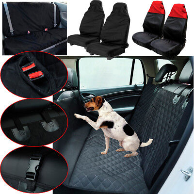 Car Rear front Seat Cover Waterproof Back Pet Dog Hammock Mat Safety Protective