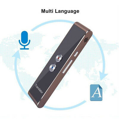 Multi-Language Translation Smart Voice Translator Two-Way Real Time Quality !!