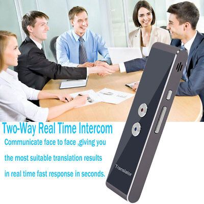 Portable Smart Voice Translator Two-Way Real Time 30+ Language Translation Gift