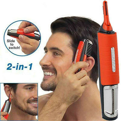 Portable Micro Switchblade Shaver Grooming Remover Hair Trimmer Touch all in one
