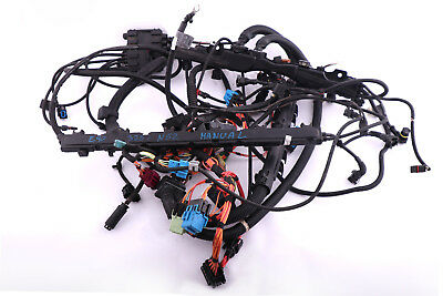 BMW 1 3 SERIES E87 E90 E91 Petrol N52 Wiring Loom Harness Engine Gearbox Manual
