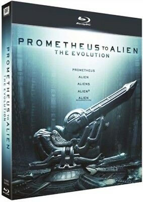 Pack Prometheus To Alien The Evolution BluRay (SP)