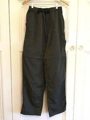Kathmandu Ladies Size M Cordura Nylon Hiking Trousers Pants Converts To Shorts