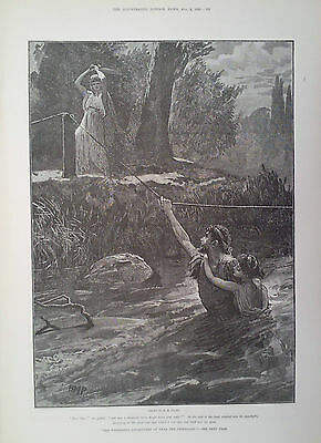 1890 Print The Wonderful Adventures Of Phra The Phoenician By H M Paget