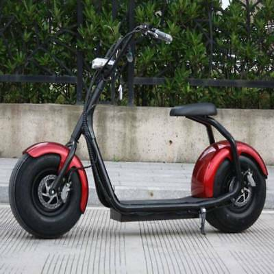 """Stuff Certified ® City Coco Electric Smart e Scooter Harley - 18 """"- 800W - 12Ah"""