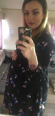 Mothercare blooming Marvellous Maternity Dress 14 floral ASOS could fit 16