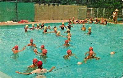 SWIMMING POOL, CAMP Cedar Ledge, Scouts of St Louis, Pavely, Missouri on