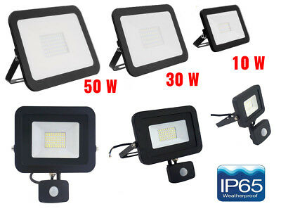 LED SECURITY LIGHT 10W 30W 50W FLOODLIGHT GARDEN OUTSIDE Security LAMP by UKEW®