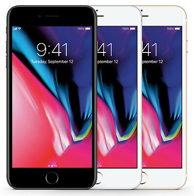 Apple iPhone 8 64GB 256GB Spacegrau Silber Gold Rot - Smartphone - ohne Simlock