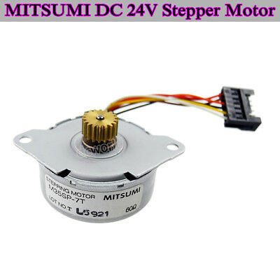 MITSUMI M35SP-7T DC 24V Stepper Motor 4-phase 6-wire DC Stepping Motor 7.5˚/Step