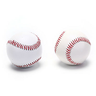 "9"" baseballs pvc upper rubber inner soft hard balls softball training exercis YJ"