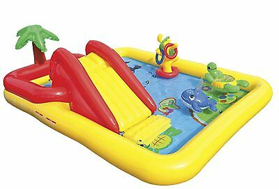 """HJHFKGLG Ocean Inflatable Play Center, 100"""" X 77"""" X 31"""", for Ages 2+"""