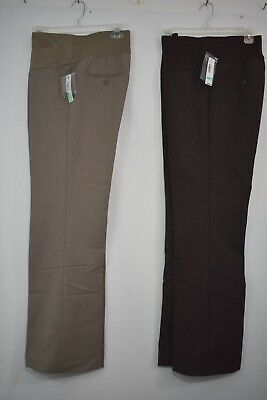 New Small Duo Maternity Pants,Cocoa Heather or  Dark Chocolate,  Was $44.00