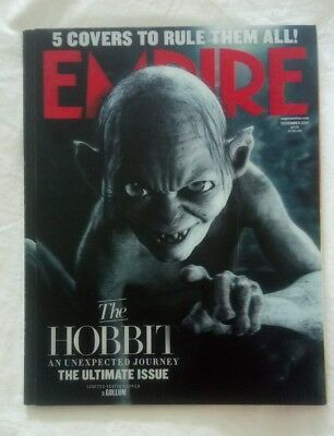 Empire Magazine 282 (Dec 2012) The Hobbit: An Unexpected Journey 3D Gollum