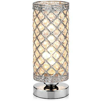 Table Lamp, Petronius Crystal Table Lamps, Decorative Bedside Nightstand Desk