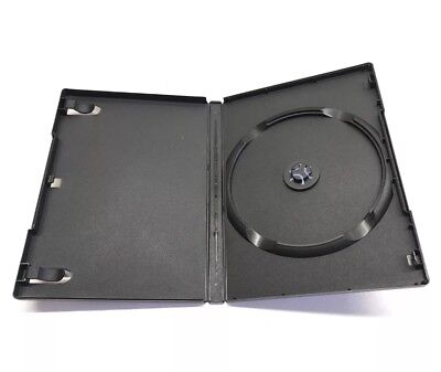 100 pack Brand new Generic Black Single 14mm DVD CD Disc Storage Case Holder