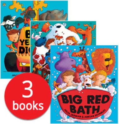Big Colours Collection - 3 Books