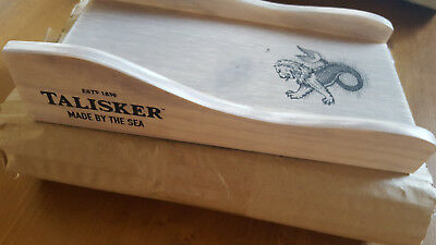 ESTd 1830 - TALISKER - Made BY THE SEA - Whisky Ständer / Holz - SUPER SELTEN!!!