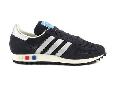 low priced 002e3 78afa BY9323 ADIDAS LA TRAINER OG BY9323 BB1208 BLU ARGENTO Sneakers Scarpe Uomo
