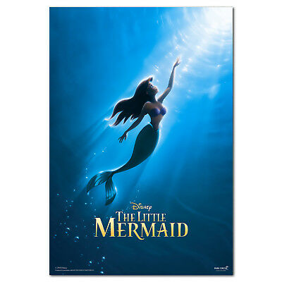 The Little Mermaid Poster - Disney Animation - High Quality Prints