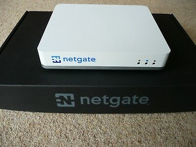 NETGATE SG3100 PFSENSE Firewall / Router with extra 120GB M2 SSD
