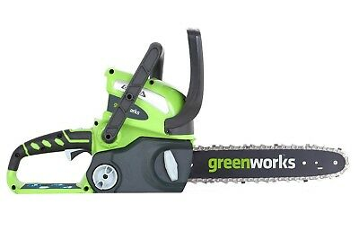 Greenworks 40v 30cm Cordless Chainsaw (Tool Only)